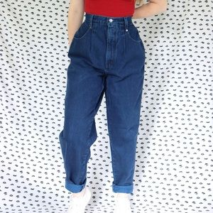 Navy Vintage Mom Jeans